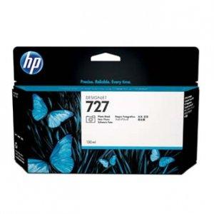 HP oryginalny wkład atramentowy / tusz B3P23A. No.727. photo black. 130ml. HP DesignJet T1500. T2500. T920 B3P23A