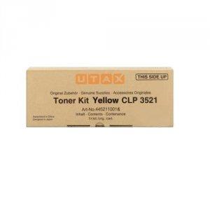 Utax oryginalny toner 4452110016. yellow. 4000s. Utax CLP 3521 4452110016