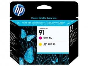 HP oryginalna głowica drukująca C9461A. No.91. magenta/yellow. HP DesignJet Z6100 C9461A
