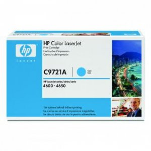 HP oryginalny toner C9721A. cyan. 8000s. 641A. HP Color LaserJet 4600. N. DN. DTN. HDN. 4650 C9721A
