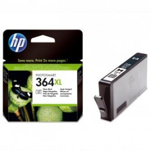 HP oryginalny wkład atramentowy / tusz CB322EE. No.364XL. photo black. 290s. HP Photosmart B8550. C5380. D5460 CB322EE