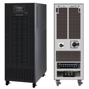 UPS POWER WALKER ON-LINE 3/3 FAZY CPG PF1 BX 40KVA, TERMINAL OUTUSB/RS-232, EPO, LCD, SNMP