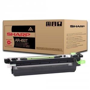 Sharp oryginalny toner AR-450T. black. 27000s. Sharp AR-P 350. M350x. P450. M450x AR-450T
