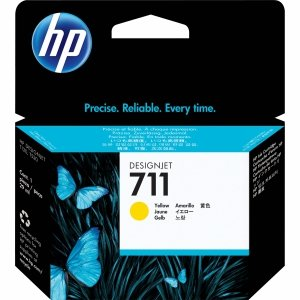 HP 711 Żółty 29ml. oryginalny wkład atramentowy / tusz do plotera Designjet T120/T520 żółty CZ132A