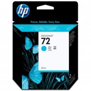 HP oryginalny wkład atramentowy / tusz C9398A. No.72. cyan. 69ml. HP Designjet T1100. T770 C9398A