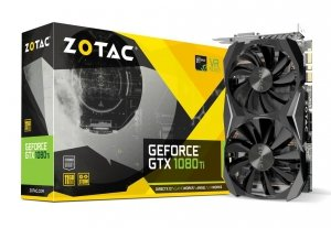 Zotac Karta grafiki GeForce GTX 1080 Ti Mini ZT-P10810G-10P
