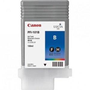 Canon oryginalny wkład atramentowy / tusz PFI101 Blue. blue. 130ml. 0891B001. ploter iPF-5000 0891B001