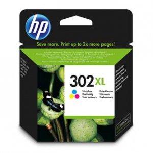 HP oryginalny zestaw tuszów F6U67AE. No.302XL. color. HP OJ 3830.3834.4650. DJ 2130.3630.1010. Envy 4520 F6U67AE#BA3