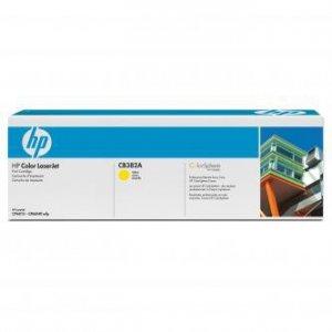 HP oryginalny toner CB382A, yellow, 21000s, HP Color LaserJet CP6015n, dn, xh, CM6030, 6040 CB382A