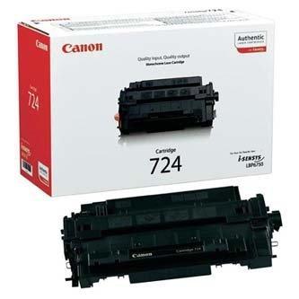 Canon oryginalny toner CRG724. black. 6000s. 3481B002. Canon i-SENSYS LBP-6750dn 3481B002