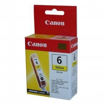 Canon oryginalny wkład atramentowy / tusz BCI6Y. yellow. 280s. 4708A002. Canon S800. 820. 820D. 830D. 900. 9000. i950 4708A002