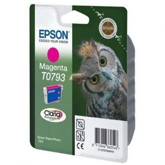 Epson oryginalny wkład atramentowy / tusz C13T079340. magenta. 11.1ml. Epson Stylus Photo 1400