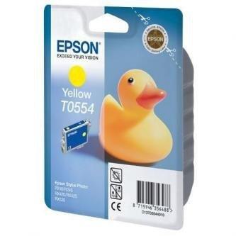 Epson oryginalny wkład atramentowy / tusz C13T055440. yellow. 290s. 8ml. Epson Stylus Photo RX425. 420