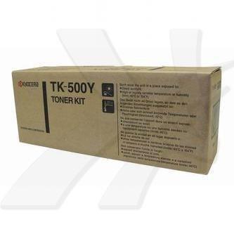 Kyocera Mita oryginalny toner TK500Y. yellow. 8000s. Kyocera Mita FS-C5016N 370PD3KW
