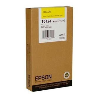 Epson oryginalny wkład atramentowy / tusz C13T611400. yellow. 110ml. Epson Stylus Pro 7400. 7450. 9400. 9450 C13T611400