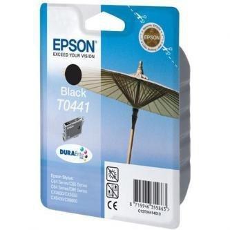 Epson oryginalny wkład atramentowy / tusz C13T044140, black, 600s, 13ml, Epson Stylus C84, C64, C66, C86, CX6400, CX6600, CX3650
