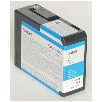 Epson oryginalny wkład atramentowy / tusz C13T580200. cyan. 80ml. Epson Stylus Pro 3800 C13T580200