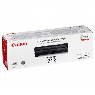 Canon oryginalny toner CRG712. black. 1500s. 1870B002. Canon LBP-3100 1870B002