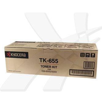 Kyocera Mita oryginalny toner TK655. black. 47000s. 1T02FB0EU0. Kyocera Mita FS-6030. 8030 1T02FB0EU0