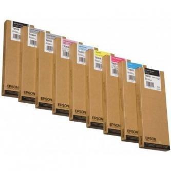 Epson oryginalny wkład atramentowy / tusz C13T614800. matte black. 220ml. Epson Stylus Pro 4400. 4450. 4800 C13T614800