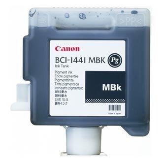 Canon oryginalny wkład atramentowy / tusz BCI1441MBK. matte black. 330ml. 0174B001. Canon W8400P 0174B001