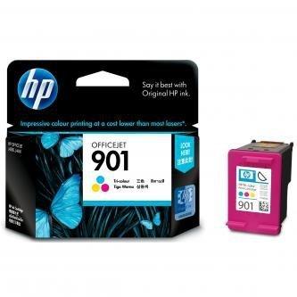 HP oryginalny wkład atramentowy / tusz CC656AE#UUQ. No.901. color. 360s. 9ml. HP OfficeJet J4580 CC656AE#UUQ
