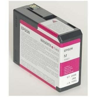 Epson oryginalny wkład atramentowy / tusz C13T580300. magenta. 80ml. Epson Stylus Pro 3800 C13T580300