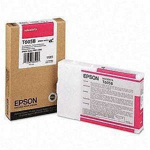Epson oryginalny wkład atramentowy / tusz C13T605B00. magenta. 110ml. Epson Stylus Pro 4800. 4880