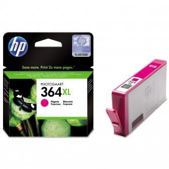 HP oryginalny wkład atramentowy / tusz CB324EE. No.364XL. magenta. 750s. HP Photosmart B8550. C5380. D5460 CB324EE