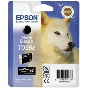 Epson oryginalny wkład atramentowy / tusz C13T09684010. matte black. 13ml. Epson Stylus Photo R2880 C13T09684010
