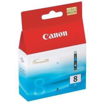 Canon oryginalny wkład atramentowy / tusz CLI8C. cyan. 420s. 13ml. 0621B001. Canon iP4200. iP5200. iP5200R. MP500. MP800 0621B001