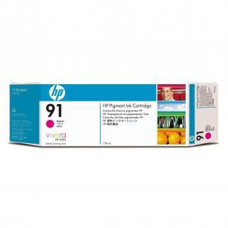 HP oryginalny wkład atramentowy / tusz C9468A. No.91. magenta. 775ml. HP Designjet Z6100 C9468A