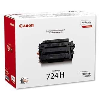 Canon oryginalny toner CRG724H. black. 12500s. 3482B002. high capacity. Canon i-SENSYS LBP-6750dn 3482B002