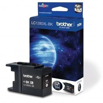Brother oryginalny wkład atramentowy / tusz LC-1280XLBK. black. 2400s. high capacity. Brother MFC-J6910DW LC1280XLBK