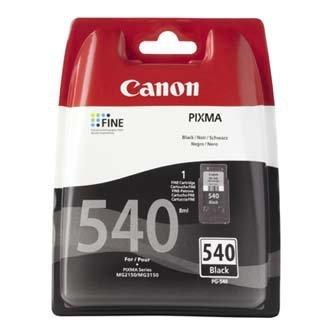 Canon oryginalny wkład atramentowy / tusz PG540. black. 180s. 5225B005. Canon Pixma MG2150. 3150 5225B005