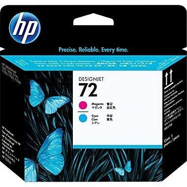 HP oryginalna głowica drukująca C9383A. No.72. magenta/cyan. HP Designjet T1100. T770 C9383A