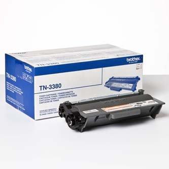Brother oryginalny toner TN3380. black. 8000s. Brother HL-5440D. HL-5450DN. HL-5470DW. HL-6180 TN3380