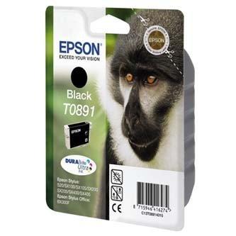 Epson oryginalny wkład atramentowy / tusz C13T08914011. black. 5.8ml. Epson Stylus S20. SX100. SX200. SX400 C13T08914011