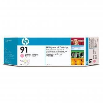 HP oryginalny wkład atramentowy / tusz C9471A. No.91. light magenta. 775ml. HP Designjet Z6100