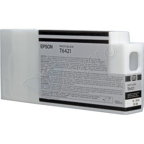 Epson oryginalny wkład atramentowy / tusz C13T642100. photo black. 150ml. Epson Stylus Pro 9900. 7900. 9700. 7700. WT7900 C13T642100