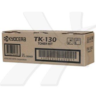 Kyocera Mita oryginalny toner TK130. black. 7200s. 1T02HS0EU0. Kyocera Mita FS-1300D. 1300N. 1350DN. 1028MFP. 1128MFP 1T02HS0EU0