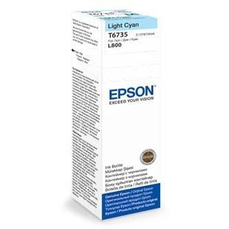 Epson oryginalny wkład atramentowy / tusz C13T67354A. light cyan. 70ml. Epson L800 C13T67354A