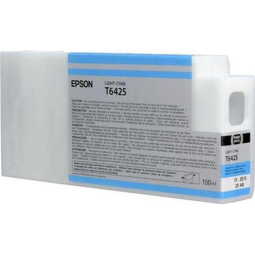 Epson oryginalny wkład atramentowy / tusz C13T642500. light cyan. 150ml. Epson Stylus Pro 9900. 7900. WT7900 C13T642500