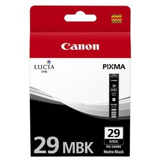 Canon oryginalny wkład atramentowy / tusz PGI29MBK. matte black. 4868B001. Canon Pixma Pro 1