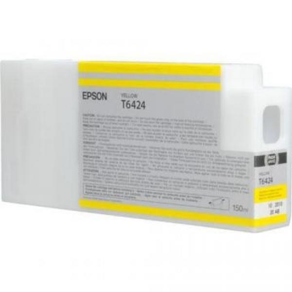 Epson oryginalny wkład atramentowy / tusz C13T642400. yellow. 150ml. Epson Stylus Pro 9900. 7900. 9700. 7700. WT7900 C13T642400