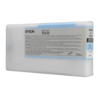 Epson oryginalny wkład atramentowy / tusz C13T653500. light cyan. 200ml. Epson Stylus Pro 4900 C13T653500