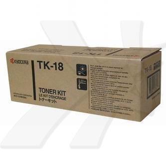 Kyocera Mita oryginalny toner TK18. black. 7200s. 1T02FM0EU0. Kyocera Mita FS-1018MFP. 1118MFP. 1020D 1T02FM0EU0