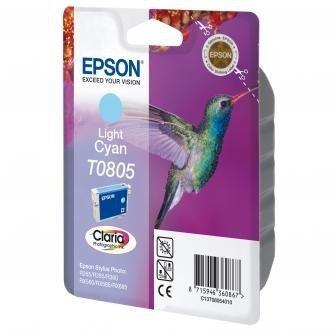 Epson oryginalny wkład atramentowy / tusz C13T08054011. light cyan. Epson Stylus Photo PX700W. 800FW. R265. 285. 360. RX560 C13T08054011