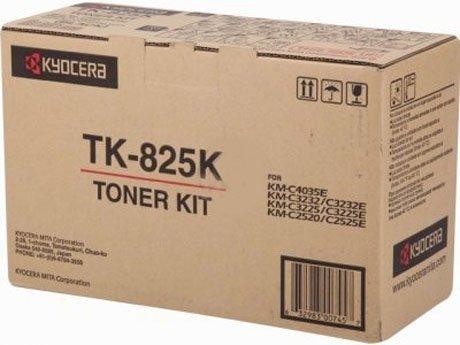 Kyocera Mita oryginalny toner TK825K. black. 15000s. 1T02FZ0EU0. Kyocera Mita KMC-2520. KM-C3232 1T02FZ0EU0