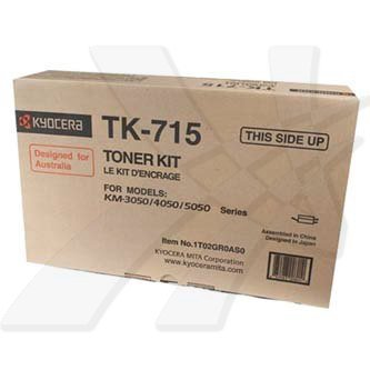 Kyocera Mita oryginalny toner TK715. black. 34000s. 1T02GR0EU0. Kyocera Mita FS-3050. 4050. 5050 1T02GR0EU0